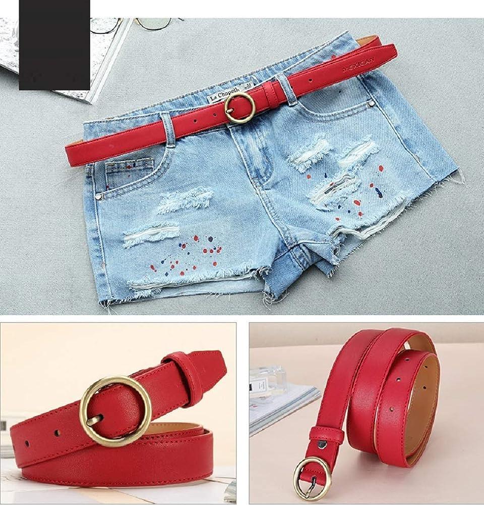 LLZK Ceinture en cuir for dames, ceinture décontractée à boucle for femme, ceinture réglable, parfaite for les jeans, pantalons, shorts, pantalons de costume, robes #4
