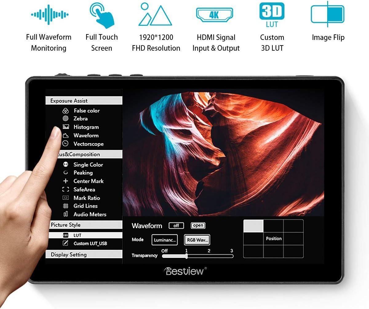 Desview R7 Monitor de Campo 7 Pulgadas Touchscreen, DSLR-Monitor ...