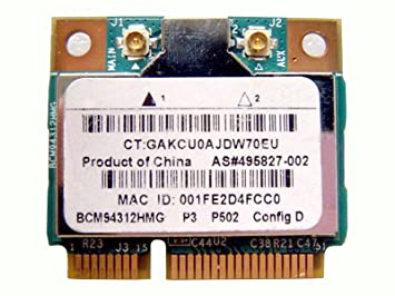 Amazon.com: Broadcom bcm94312hmg bcm4312 mitad Mini PCI-E ...