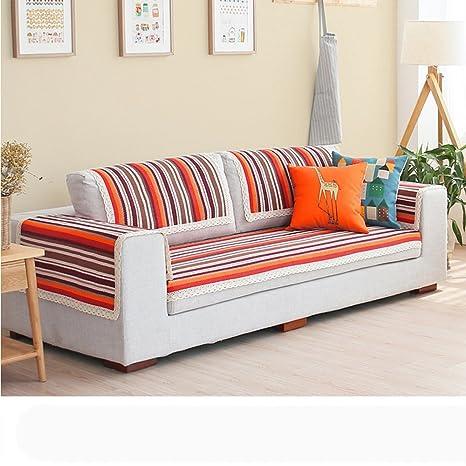 Amazon.com: MRZHW Sofa Covers Sofa Towel Summer Fluid ...