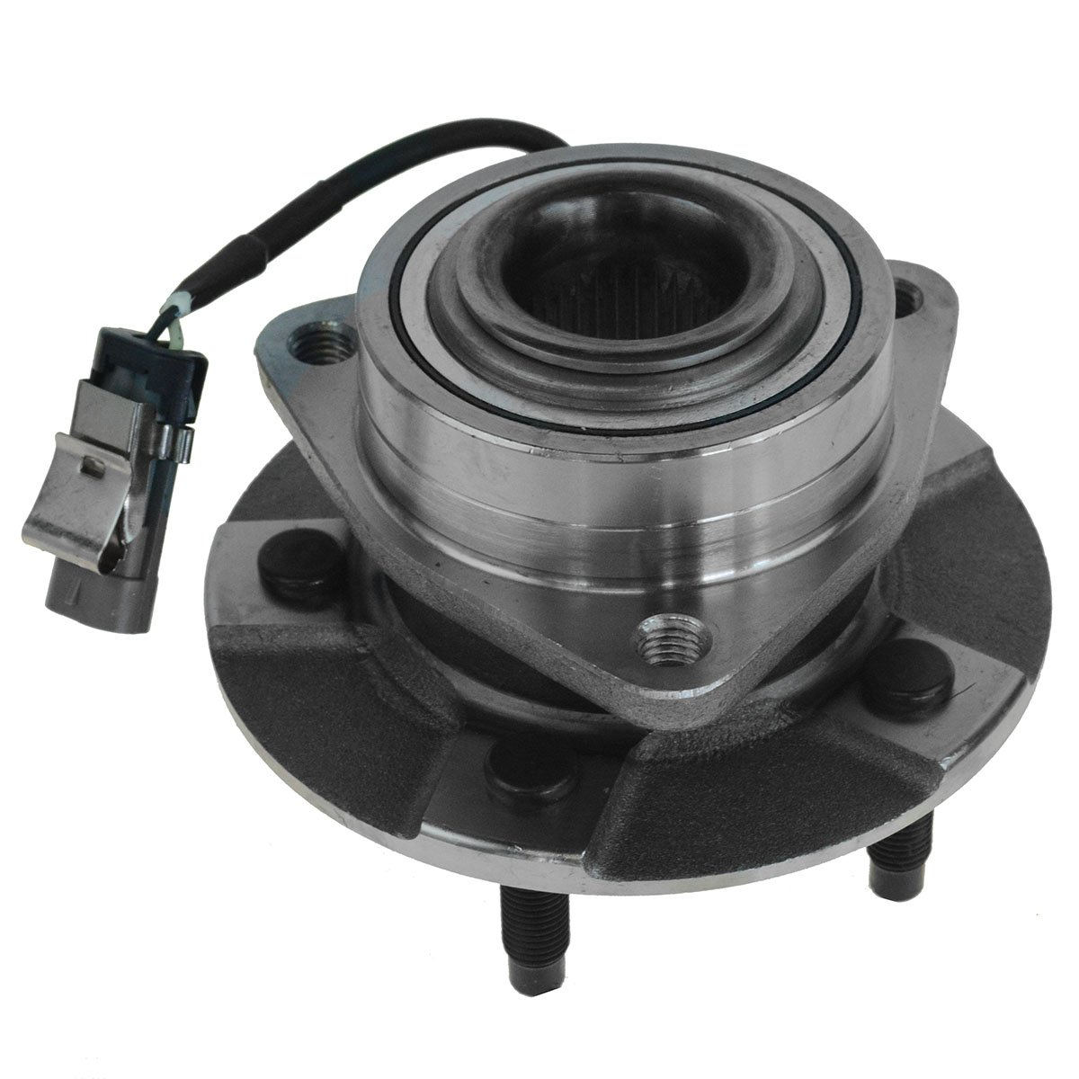 TRQ Front /& Rear Wheel Hub /& Bearing Assembly Kit for Equinox Torrent Vue