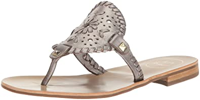 345b2c01b0d Jack Rogers Women s Georgica Dress Sandal Pewter 6 ...
