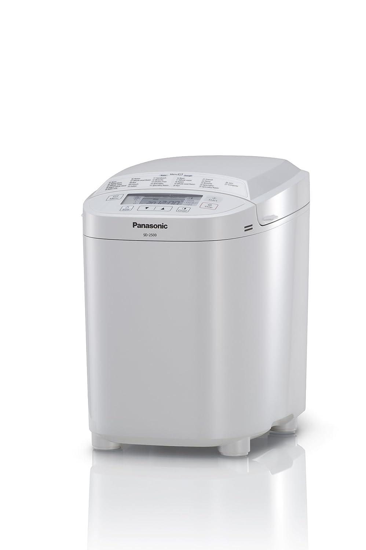 Panasonic SD-2500WXC Color blanco 550W - Panificadora (Color blanco, Ciabatta la masa, Masa, Pan francés, Masa para pizza, 13 h, 550 W, 230/240V AC, ...