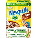 Nesquik Duo Palline di Cereali Integrali al Cioccolato e Palline Ricoperte di Cioccolato Bianco, 14 Confezioni