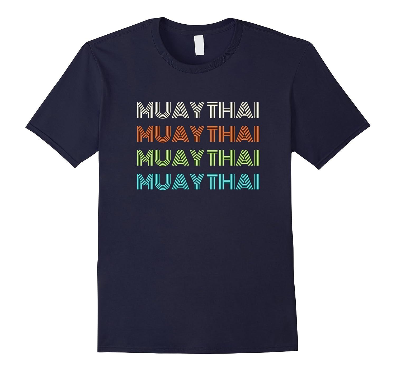 Classic 1970's Muay Thai T-Shirt-FL