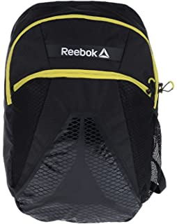 Reebok OS Combo Medium Backpack Uni Sex in Black and Vital Green