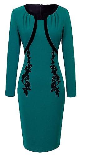 HOMEYEE Women's Elegant Patchw...