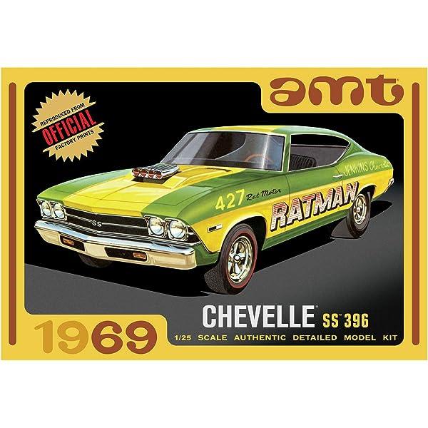 Body Set 1//25 Scale AMT 1965 Chevelle Modified Stocker