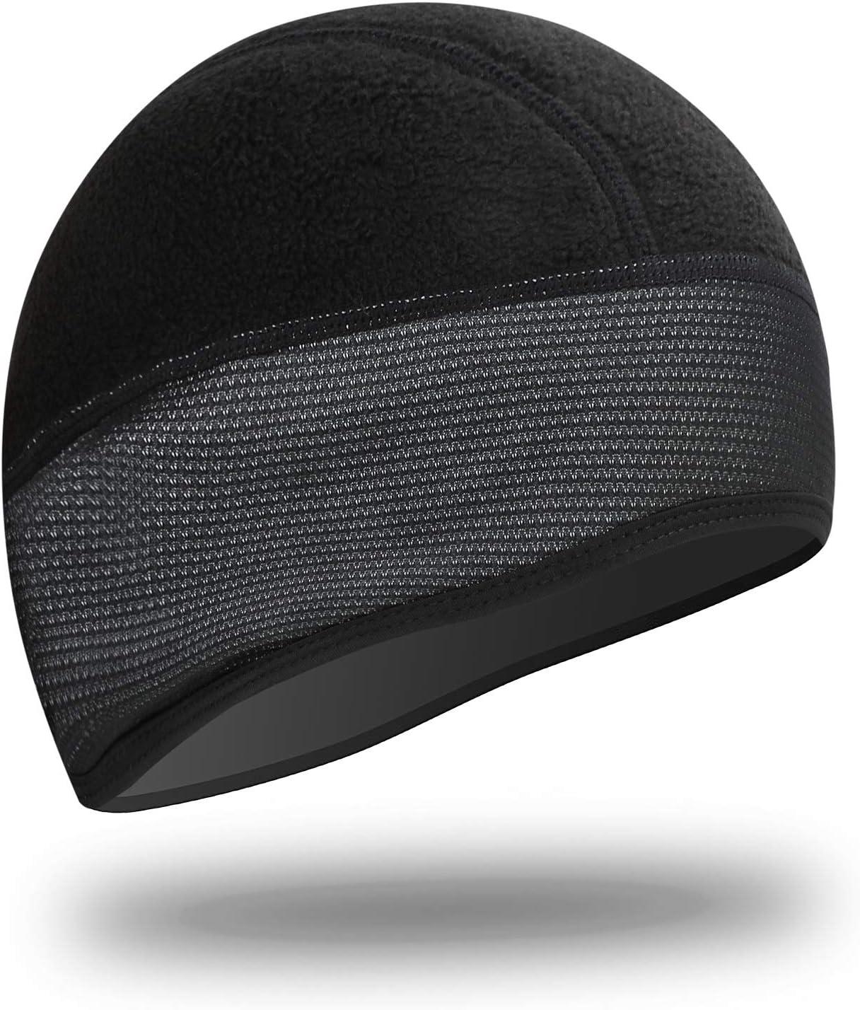 Z Sports Casque de v/élo en forme de cr/âne de cr/âne pour lhiver thermique Coupe-vent Taille unique