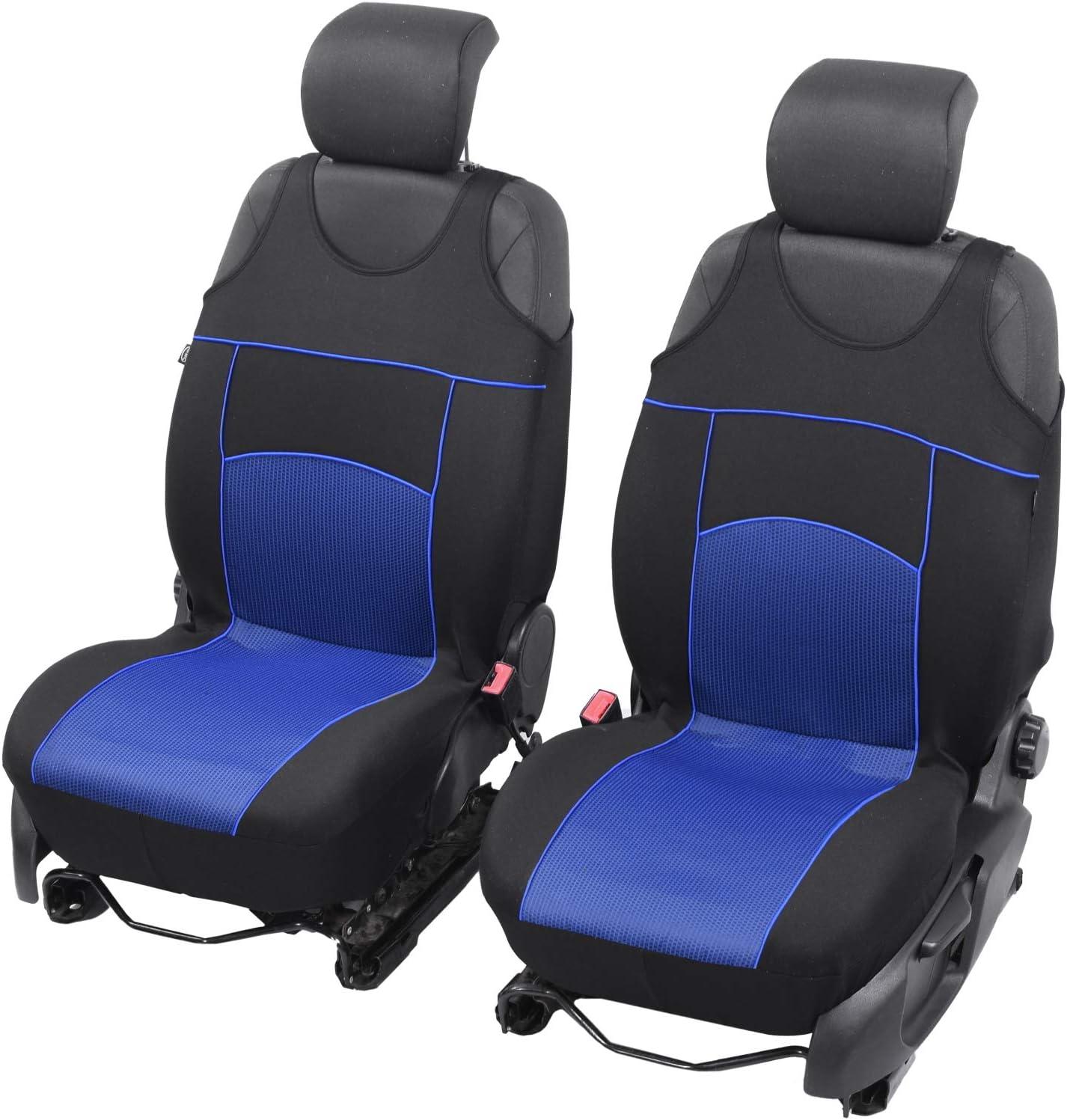 Universelle Sitzbez/üge Tuning EXTRA kompatibel mit Seat Arona Sitzauflage /Überz/üge Schonbez/üge Vordersitze GRAU