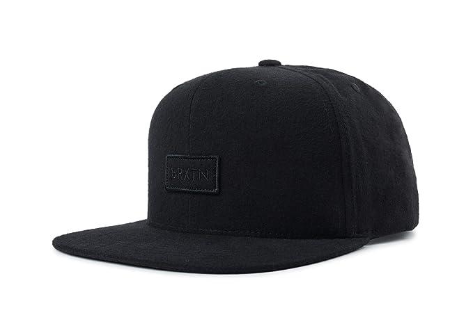 2ebb9d7b100f9 Brixton Men s Rift II Medium Profile Adjustable Snapback Hat Baseball Cap