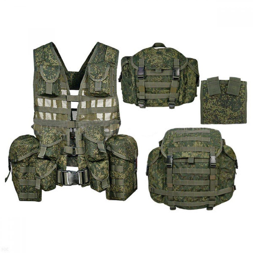 ロシア軍 6sh117 タクティカルベスト&バックパックセット FSB OMOH SOBR 実物! レア品! B01ISWRRKC
