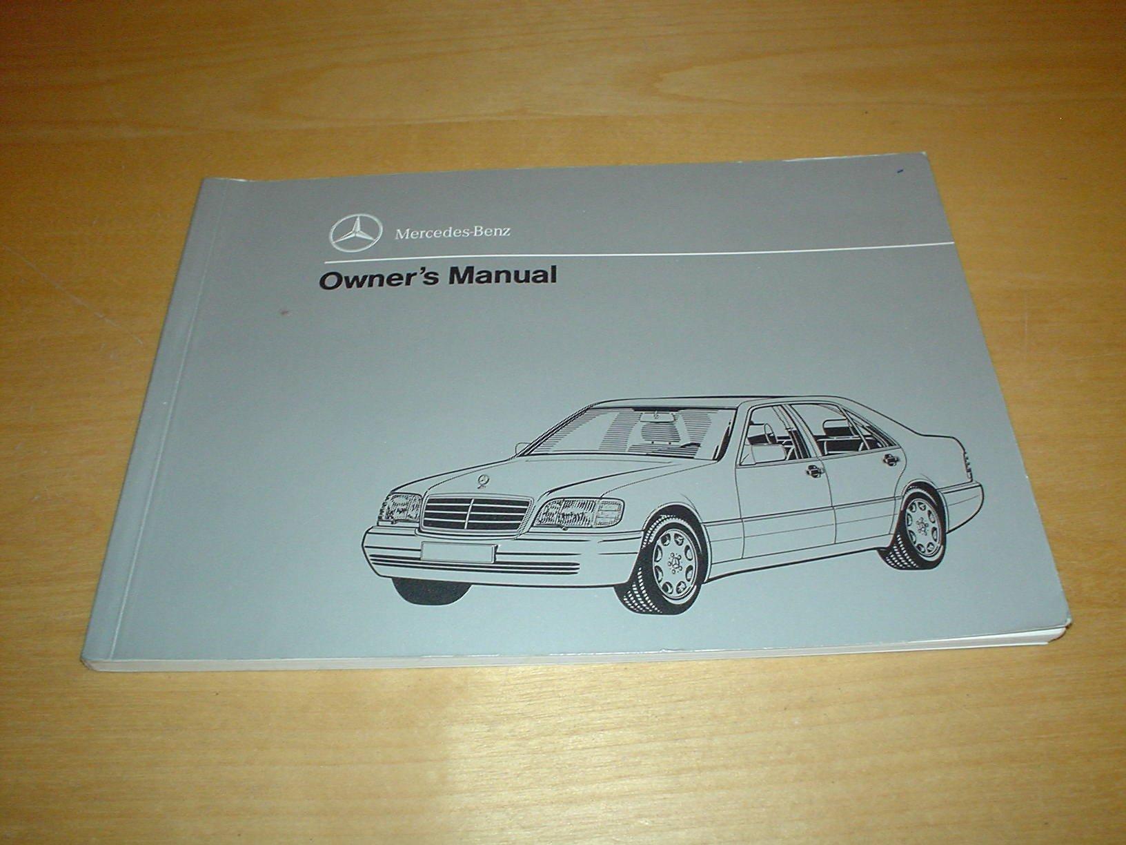 mercedes benz w140 s class owners manual handbook 1991 1999 rh amazon co uk Mercedes W140 Diesel Mercedes W124