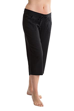 latest discount sale uk biggest discount Octave Ladies Linen Cropped 3/4 (Three Quarter) Length Trousers ...