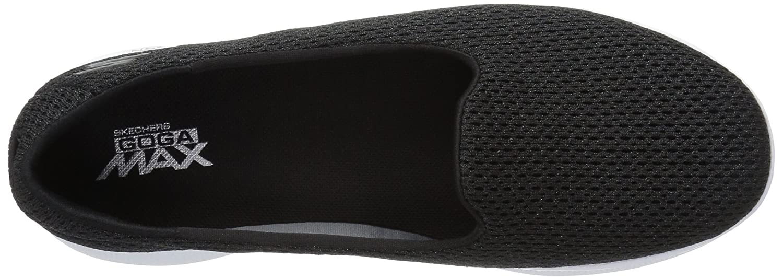 Skechers Performance Women's Go Step Lite Slip-on Walking Shoe B01IIBR1YU 8.5 B(M) US|Black/White Lux