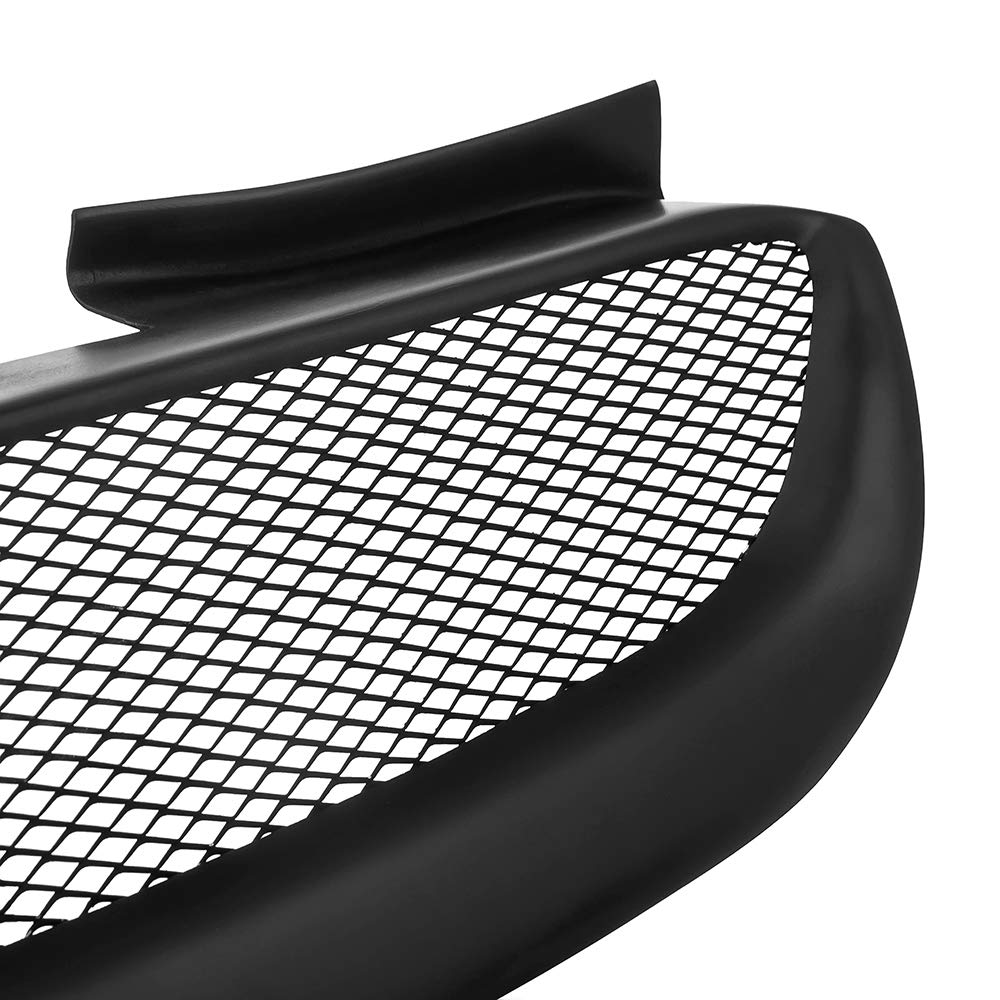 MotorFansClub Front Grill for Hyundai Genesis Coupe 2009-2012 Bumper Grille Hood Mesh Grill Black