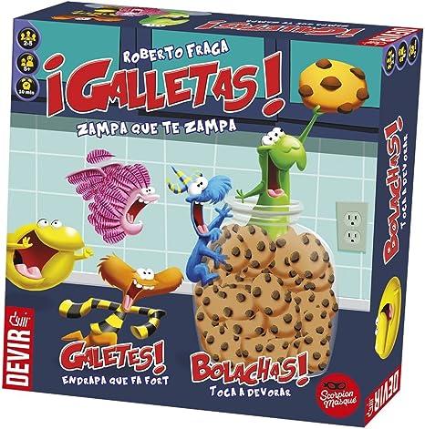 Devir - Galletas, juego de mesa (BGGALLETAS): Amazon.es: Juguetes ...