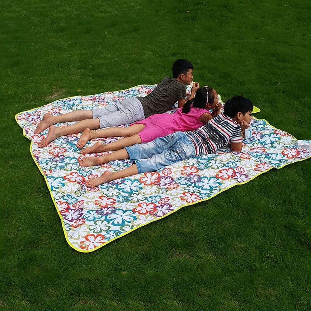 WLHW Picknickdecke, Große 200 x 200 cm Wasserdichte Unterstützung Portable Portable Portable Faltbare Outdoor Beach Wandern Gras Reisen Camping B07G48721N Picknickdecken Eleganter Stil 0e06ee