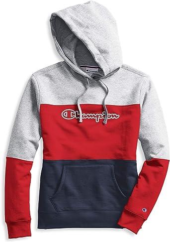 champion colour blocked sweatshirt damen