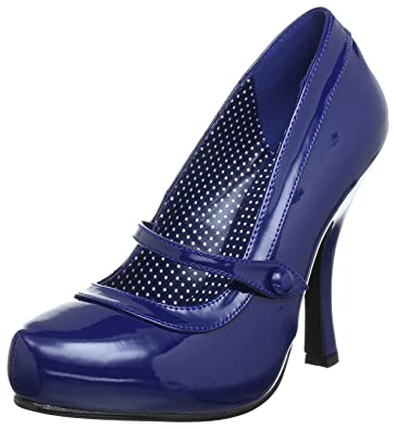 Amazon.com | Pleaser Women's Cutiepie-02/NB Mary Jane Pump | Pumps