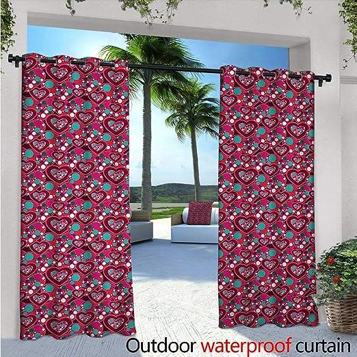Cortina de privacidad para exteriores hawaiana para pérgola cálida y tropical, puesta de sol en arenas