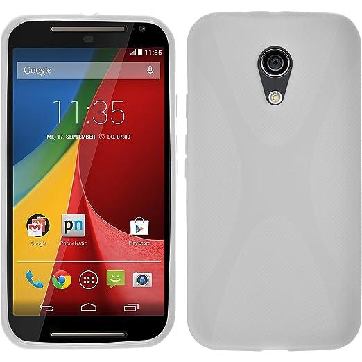 229 opinioni per PhoneNatic Custodia Motorola Moto G 2014 2. Generation Cover bianco X-Style Moto