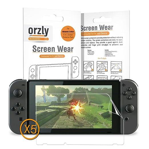 17 opinioni per Pellicole Protettive Orzly (5 in 1) compatibili con il Nintendo Switch –