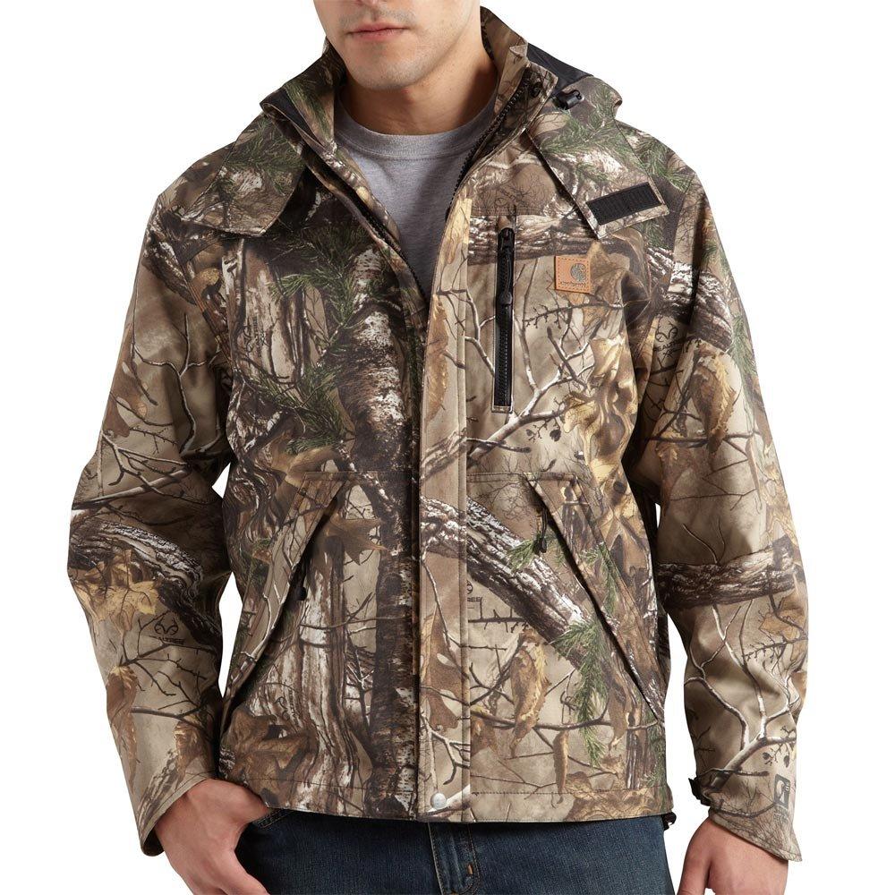 Carhartt Men's Big & Tall Camo Shoreline Jacket,Real Tree Extra,XXX-Large by Carhartt