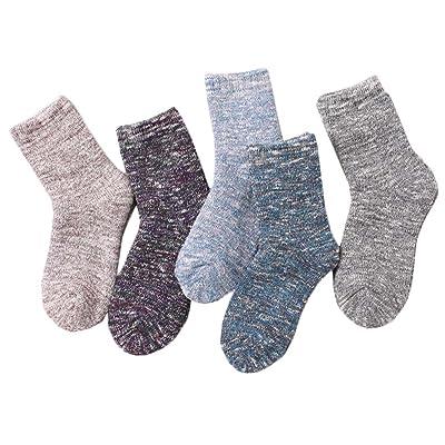 5 paires Chaussettes de plancher adultes Chaussettes de sommeil chaussettes d'hiver #13