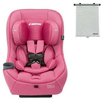 2015 Maxi Cosi Pria 70 Convertible Car Seat Pink Berry With BONUS Retractable Window