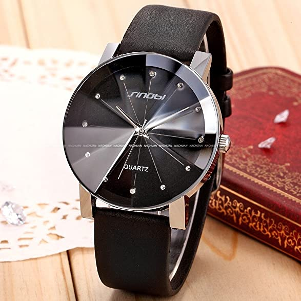 Amazon.com: Relojes de Hombre Men Dial Analog Quartz Watch (Black) De Hombre Para Caballero: Everything Else