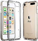 【ULAK】iPod touch ケース Apple ipod touch 6/ipod touch 5 カバー シリコン ソフト バンパー クリア衝撃吸収 スリム 軽量 傷防止iPod touch 6世代 高品質 ハードケース (クリア)