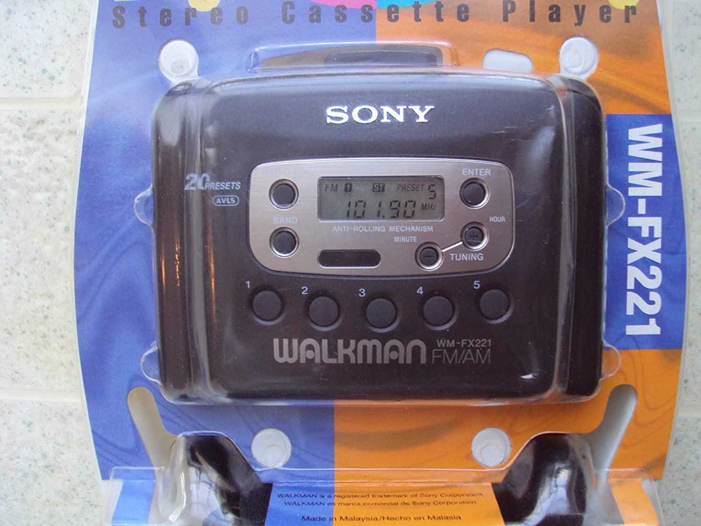 Amazon.com: Sony Walkman WM-FX221 Digital Tuning Am/Fm Stero Cassette Player: Home Audio & Theater