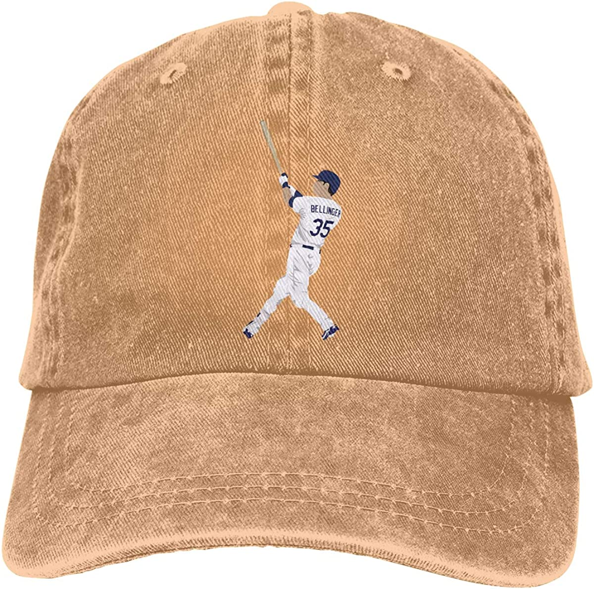 DeniCar Unisex Adjustable Baseball Caps Cody-Bellinger-Logo-Vector Cowboy Skull Cap