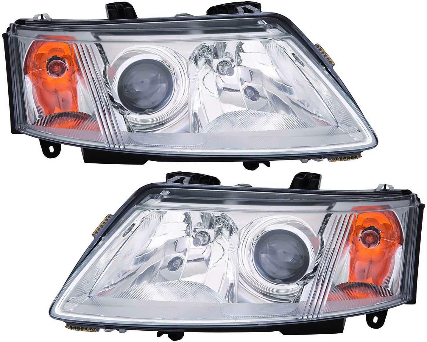 TYC 20-6693-00 Compatible with Saab 9-3 Passenger Side Headlight Assembly