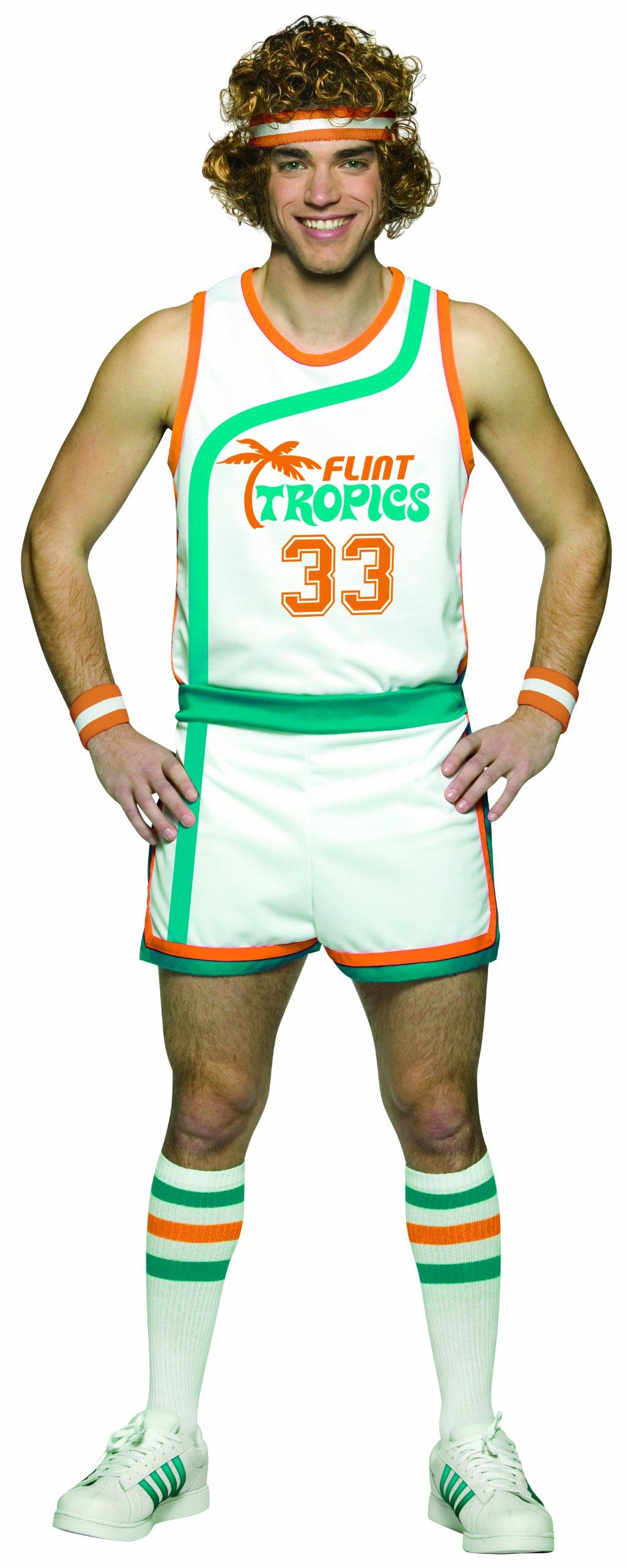 Rasta Imposta Semi Pro Uniform Costume, Multi-Colored, One Size by Rasta Imposta