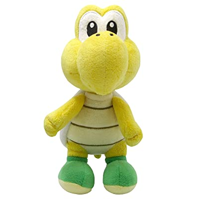 "Sanei Super Mario All Star Collection 7"" Koopa Troopa Plush, Small: Toys & Games"