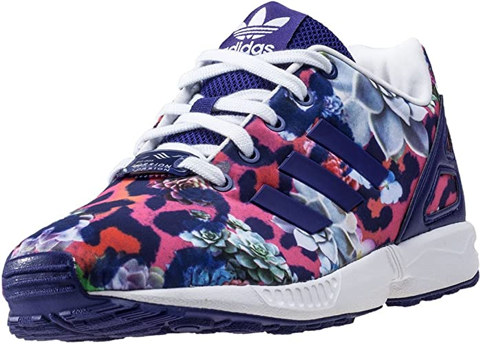 ZX Flux Femme Fille Chaussures Violet Adidas