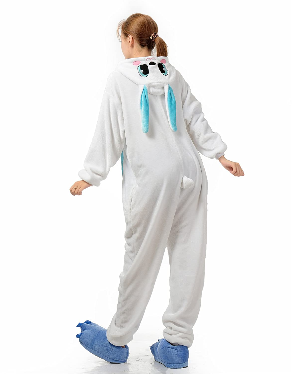 Amazon.com: FashionFits Unisex Jumpsuit Bunny Suit One Piece Pyjama Rabbit Homewear Pajama: Clothing