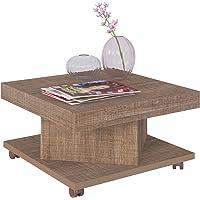 Artely Saara Coffee Table, Cinnamon, 33.5 cm x 63 cm x 63 cm