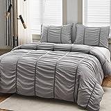 ARTHOMES Comforter Set Bed, Soft Microfiber Bed Comforter Set, Bedding Comforter Set, King or Queen 3 Piece Bed Sets…