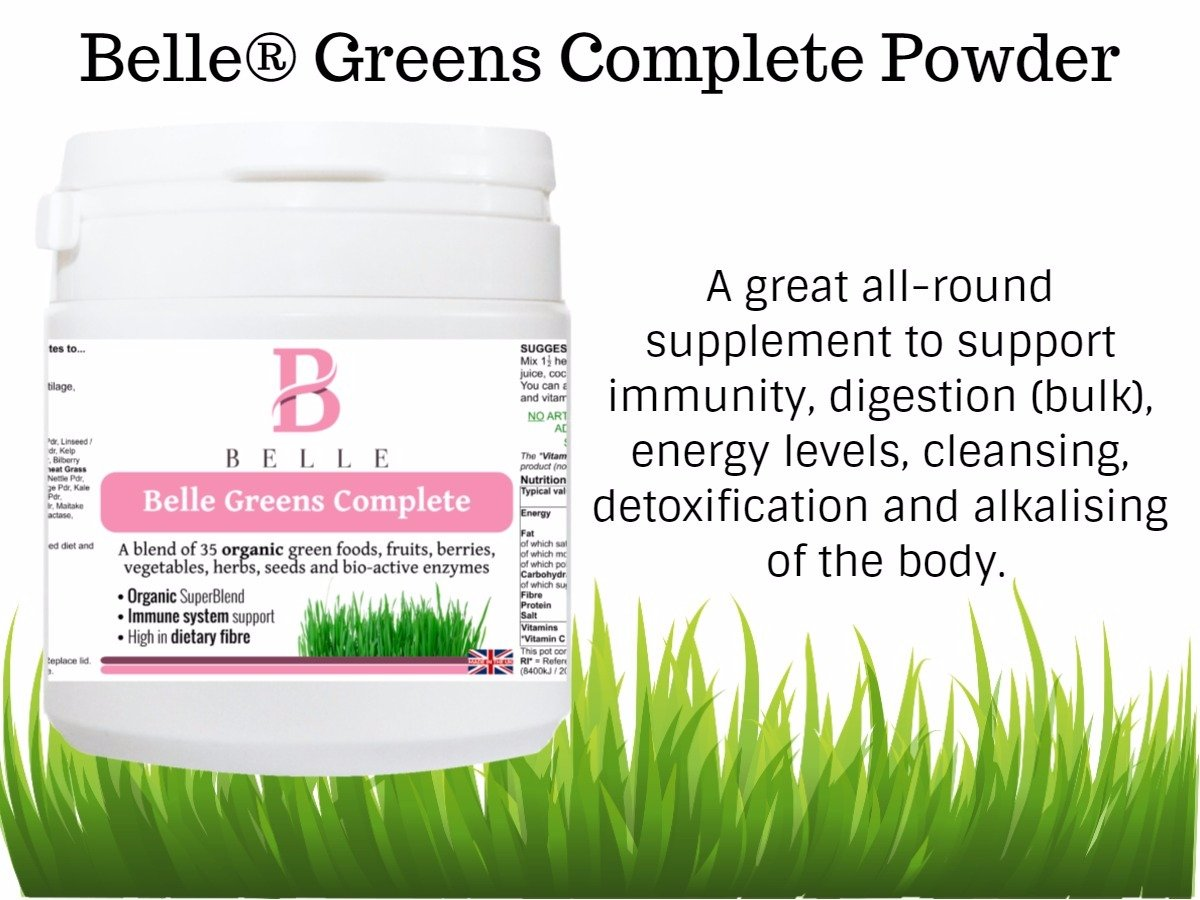 Belle® Greens Complete Polvo - Mezcla de 35 alimentos ...