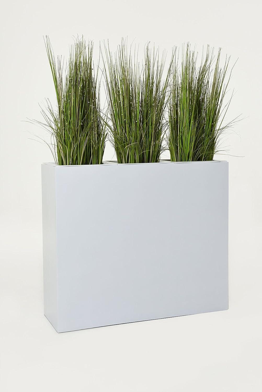 Pflanzkübel Raumteiler Trennelement Sichtschutz Fiberglas