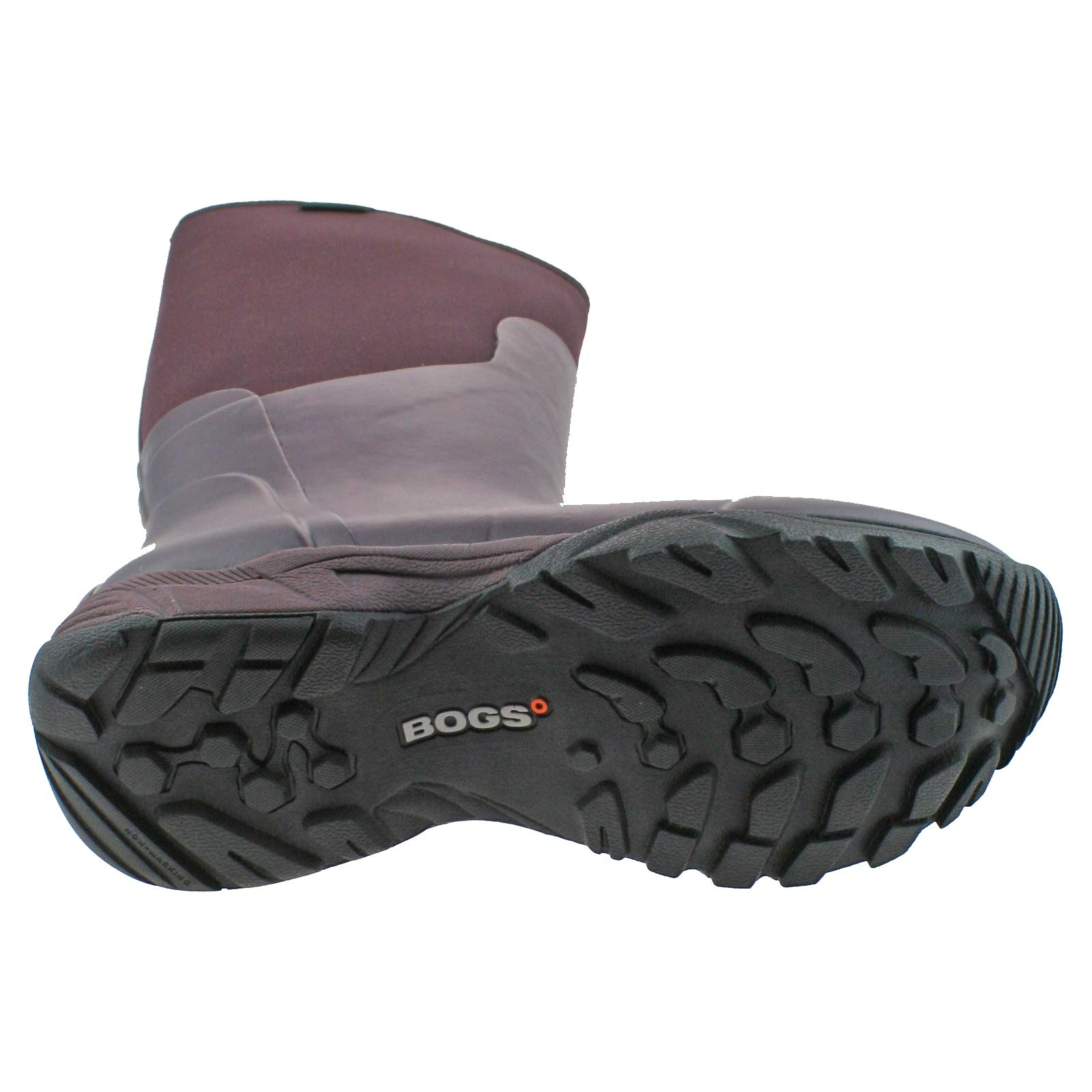 Ladies Essential Aubergine Solid Tall 550 Wellies 38 5 78583 Boot Warm Insulated Bogs eu uk RIdqw5R