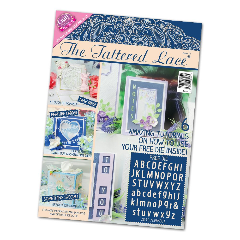 Create and Craft The Tattered Lace Magazine Issue 15