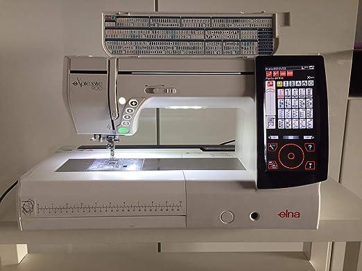 Elna eXpressive 900 Máquina de coser y bordar: Amazon.es: Hogar