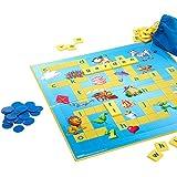 AsToy スクラブル 英語 単語ゲーム 子供向け 英単語 ボードゲーム 英語教材 カード ゲーム 学習 おもちゃ 脳トレ 知育玩具 Scrabble