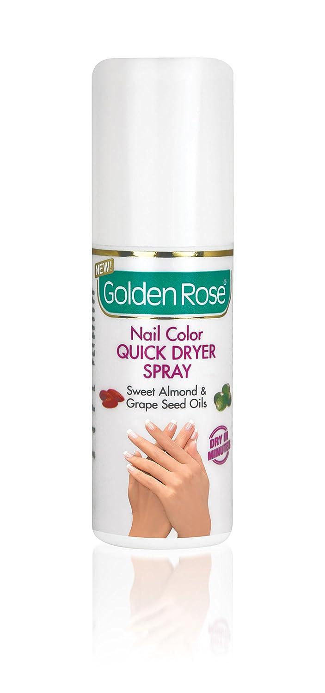 Amazon.com : Nail Polish Dryer Spray with Sweet Almond & Grape Seed ...