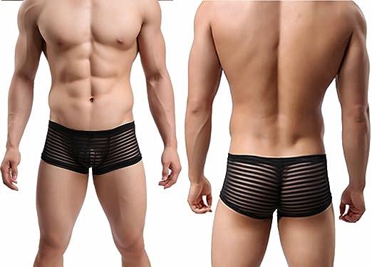 Männer Ultra Sexy Mit Streifen String-tangas Strings Bikini Clubwear Dessous:  Amazon.de: Bekleidung