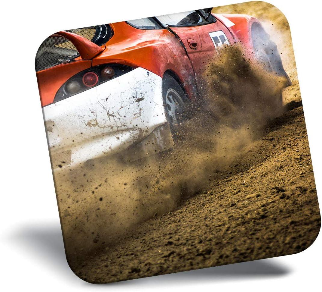 Destination Vinyl ltd Awesome Fridge Magnet - Car Racing 4x4 Drift Rally Cross 16587